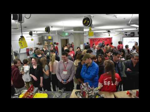 2016 Seattle Academy Upper School Open House Robotics Lab