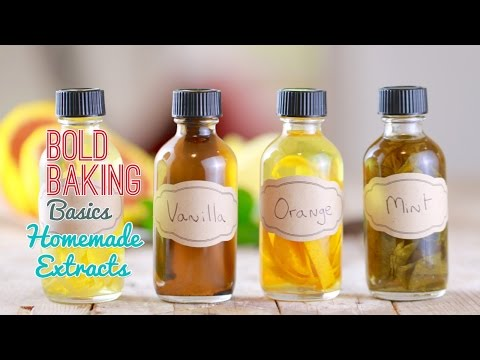 How to Make Homemade Extracts (Vanilla Extract, Mint & More!) Gemma's Bold Baking Basics Ep  7