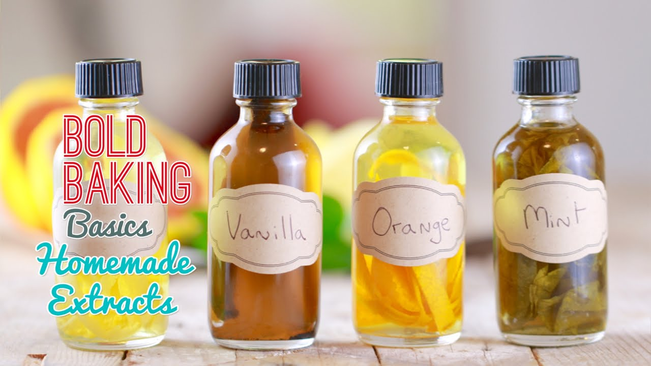 How To Make Homemade Extracts Easy Vanilla Extract Recipe More Gemma S Bigger Bolder Baking