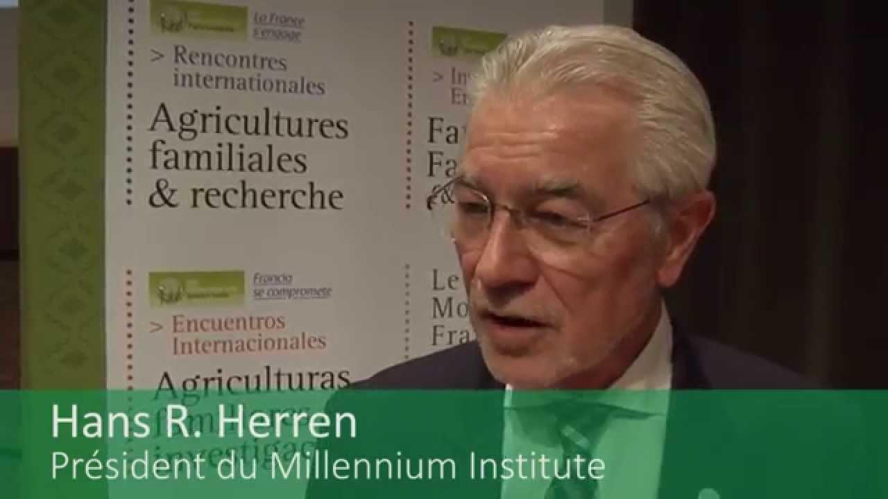2014/ Rencontres internationales « Agricultures familiales et recherche »