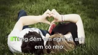 Hãy nói lời yêu nhau _Karaoke