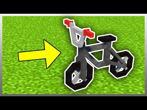 ✔️ Working BMX BIKE in Minecraft! (Tutorial Included)