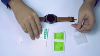 OMOTON 01 Watch Screen Protector Installation