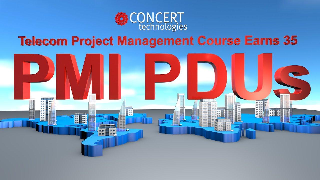 Earn 35 Pmi Pdus Telecommunications Project Management Course