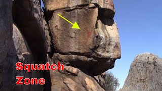 Native American Pictographs!!! In the Squatch Zone!