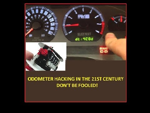 Odometer Hacking in the 21st Century: Don't be fooled