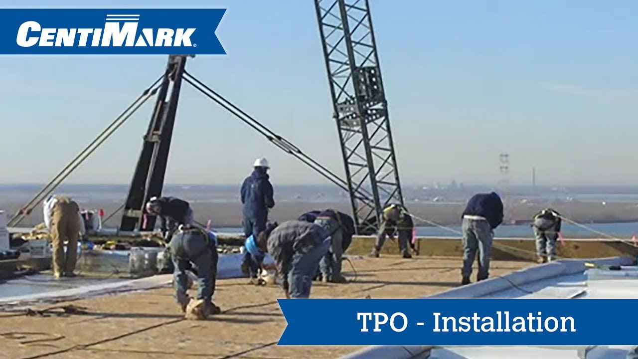 TPO Roof System Installation | TPO Roofing Installation | CentiMark
