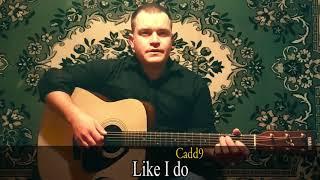 Как играть на гитаре 🎸LIMP BIZKIT- BEHIND BLUE EYES🎸  Разбор, аккорды, текст✓