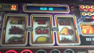 Deal or no deal box 23 £100 jackpot Bellfruit Novomatic Games Fruit machine with note Recycler