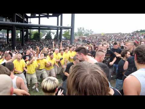 Mayhem Fest 2010 Most Pit on the Lawn - Tinley Park, IL