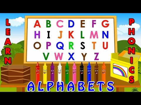 learning alphabets for kids | Phonetics for kids