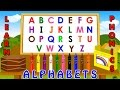 POKEMON Pikachu ABC Song | ABCD Alphabet Songs | ABC Songs for Children - 3D ABC Nursery Rhymes
