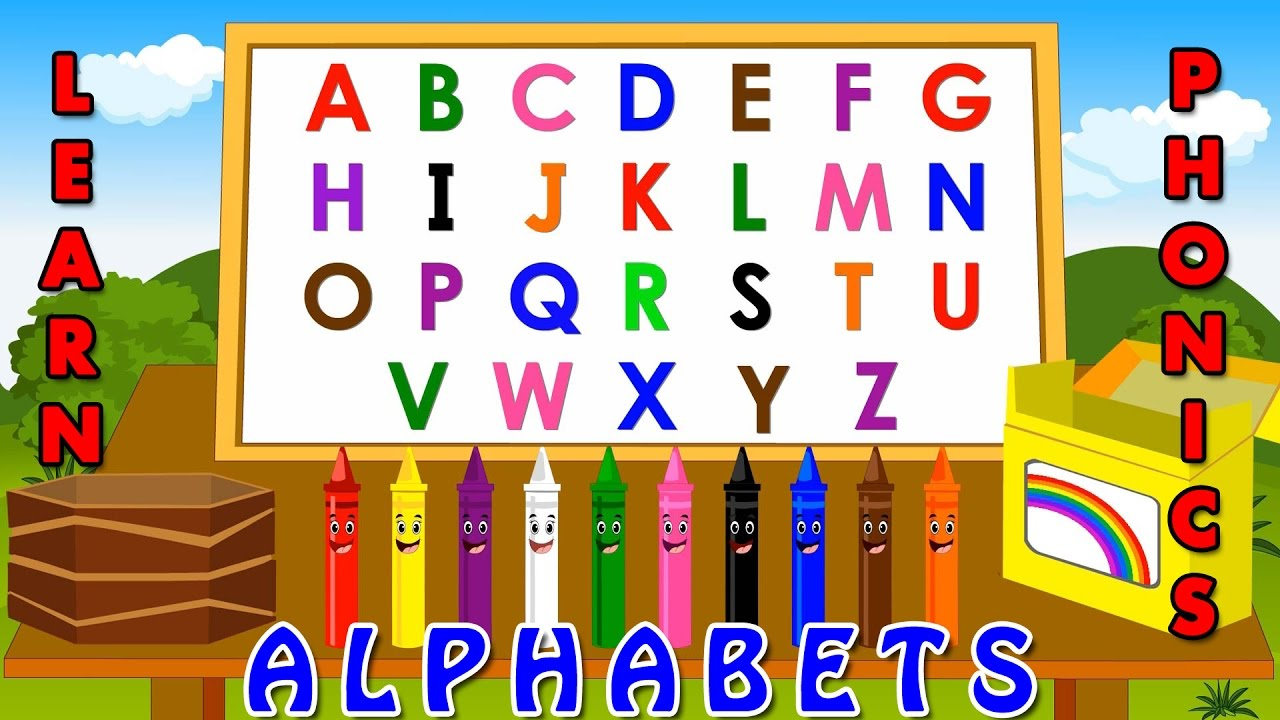 Learning Alphabets For Kids  Phonetics For Kids  Phim22com
