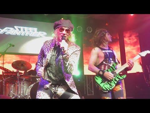 Steel Panther - Ft. Lauderdale November  4 2017 (4 songs)
