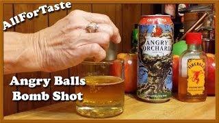 Angry Balls Bomb Shot