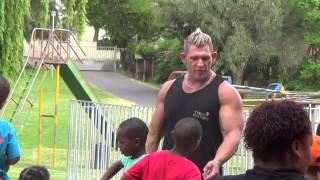 Trojan Warriors visit Durbanville Children