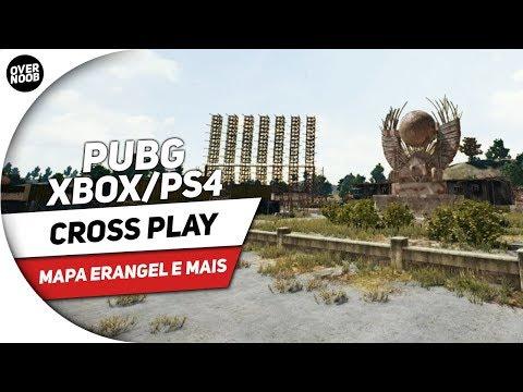 📰 PUBG XBOX/PS4 | CROSS PLAY MAPA ERANGEL E MAIS #AcademiaXbox