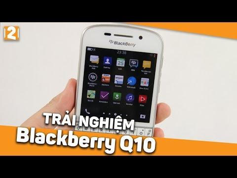 Trải nghiệm Blackberry Q10 sau 3 năm ra mắt - Điện thoại BlackBerry Q10