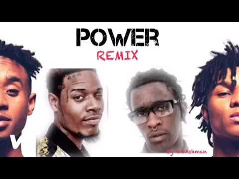 Young Thug- Power REMIX FT. Fetty Wap, Rae Sremmurd (Mashup)