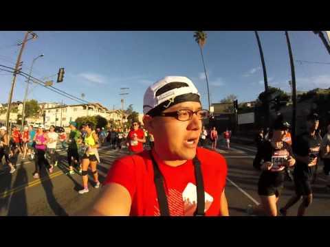 My First Marathon Experience - LA Marathon 2016