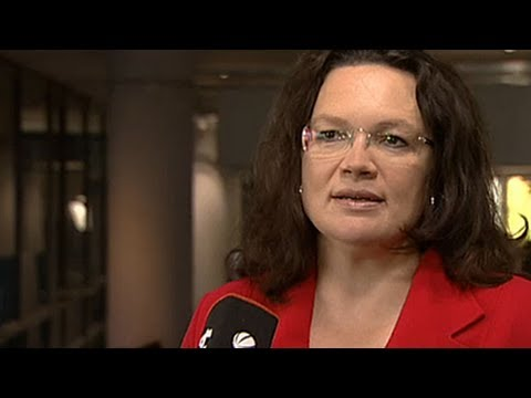 Umstrittenes Rentenkonzept - Andrea Nahles im Interview