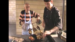 Готовим шашлык в тандыре
