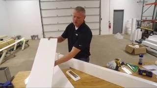 Step 4 - Attach Pergola Ledger to Structure