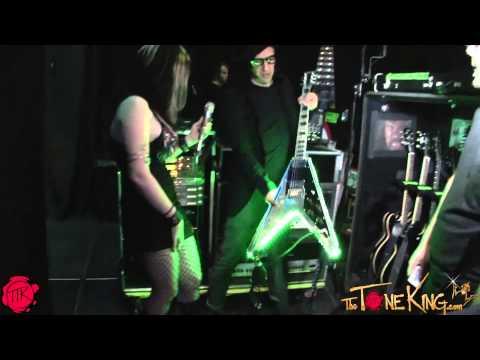 Twiggy's EGC METAL V GUITAR (Electric Guitar Company)