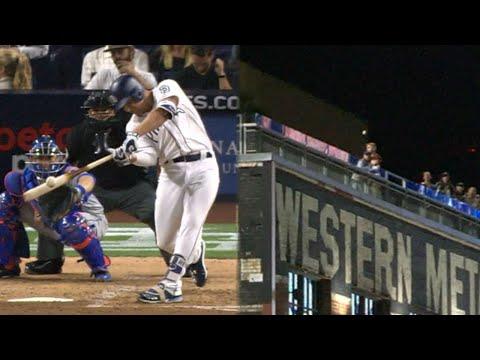 Renfroe clobbers a mammoth solo home run