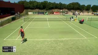 Stojanovic Nina v Radwanska Urszula - 2018 ITF Obidos