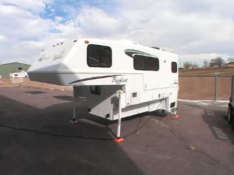 Used Bigfoot Truck Camper for sale 25c 10.6 rv - YouTube