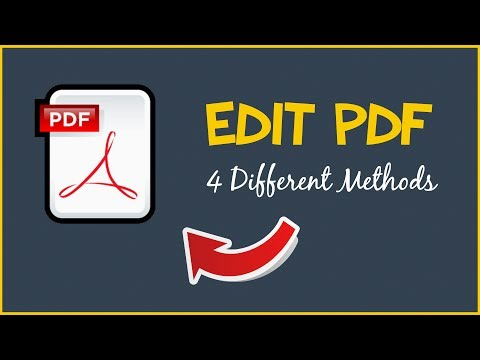How to edit pdf file in adobe reader free download