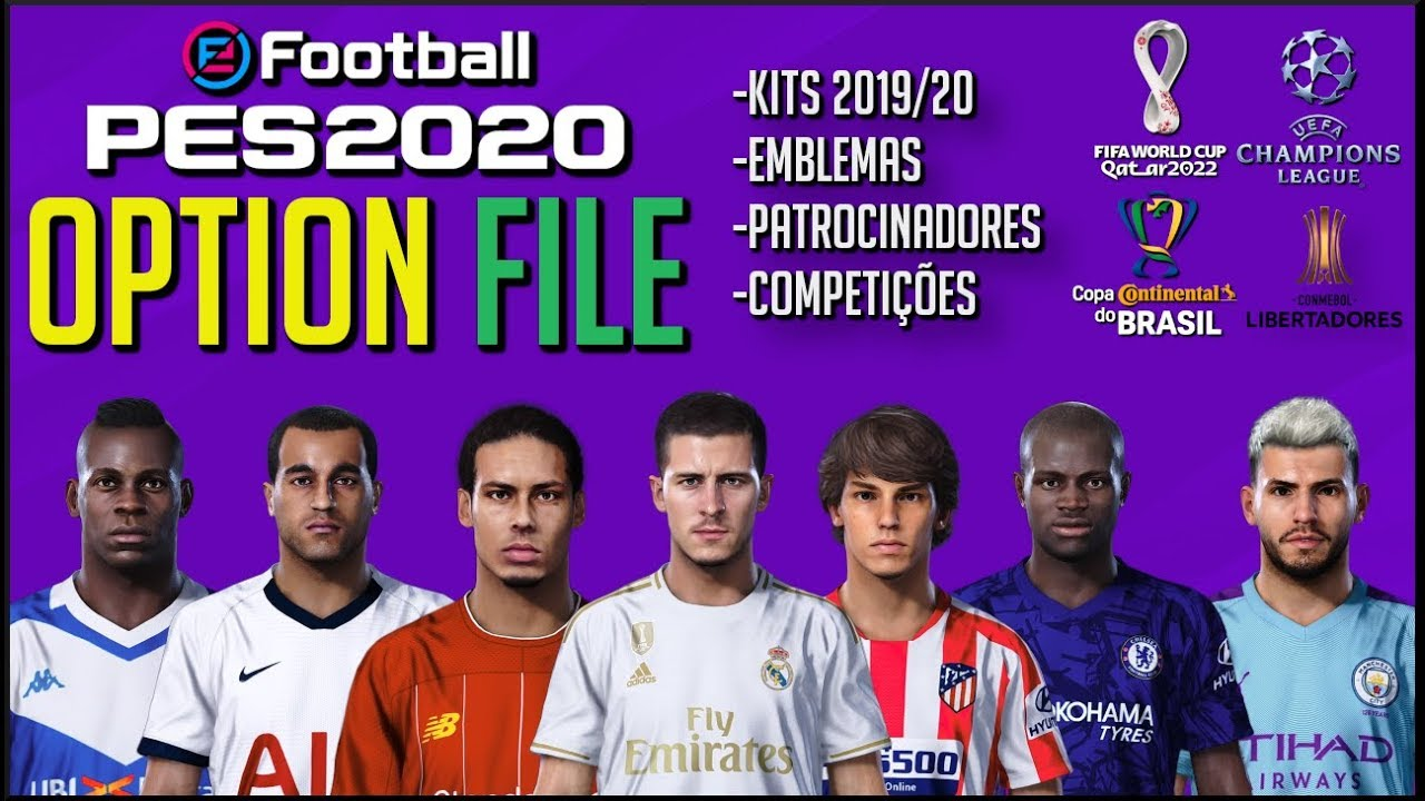 Best pes 2020 ps4 option file