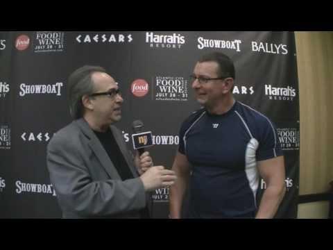 Food Newtork Star Robert Irvine Interview at the Atlantic City Food and Wine Festival