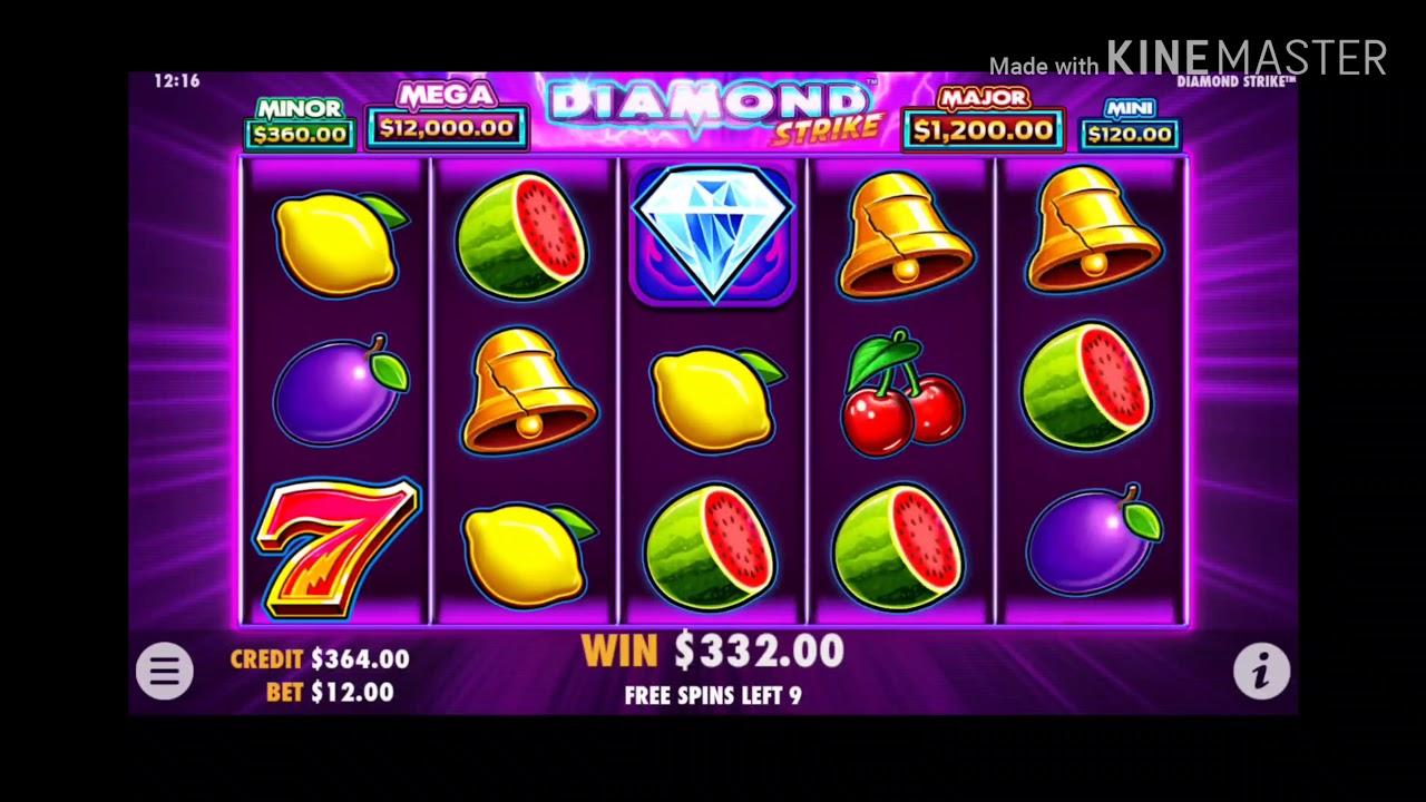 Diamond Strike / Dafabet / Freespin / Slot Malaysia
