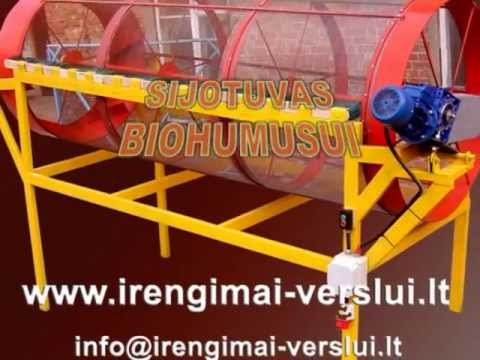 Sieving Machine Rotary Drum Filter Sifter Diy Do It