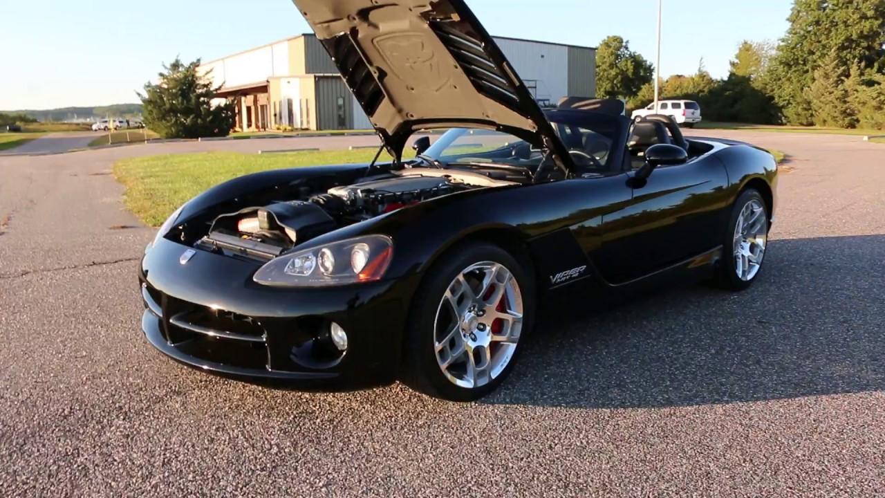 2006 Viper SRT10 Convertible For Sale~Triple Black~16,289 MILES ...