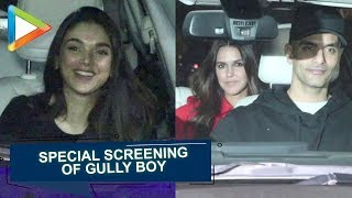 Gully Boy Special Screening at YRF with Many Celebs
