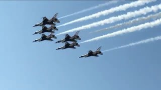 Cleveland National Airshow 2017: US Air Force Thunderbirds!