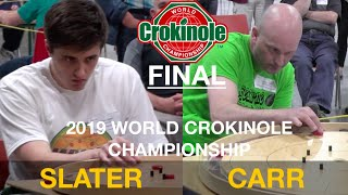 2019 World Crokinole Championship Final - Slater vs Carr
