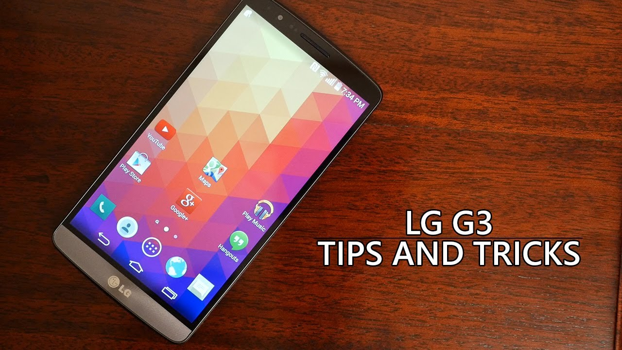 LG G3: 10 Tips and Tricks