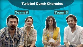 Twisted Dumb Charades With Barun Sobti | Kay Kay Menon | Eisha Chopra | Shriswara | EXCLUSIVE