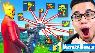 I REAGIERE on EXTREME HACKER in Fortnite!