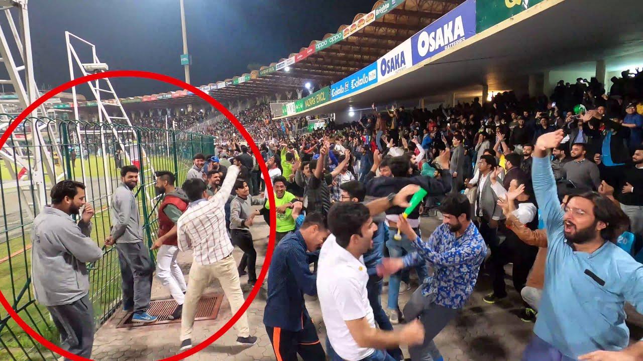 Electrifying Crowd Moments at Qaddafi Stadium Lahore LQ vs KK