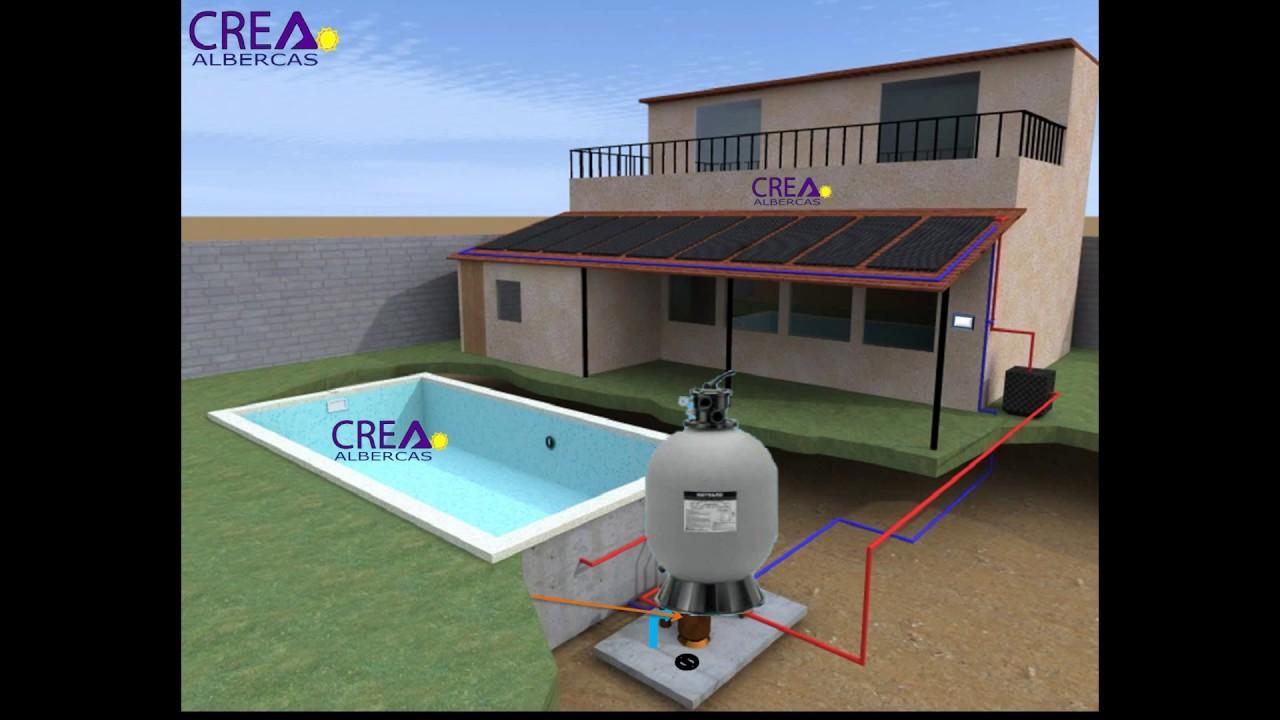 Alberca crea esquema y funcionamiento youtube - Esquema funcionamiento depuradora piscina ...