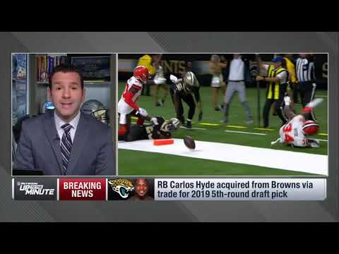 Carlos Hyde trade opens up space in the Cleveland Browns backfield