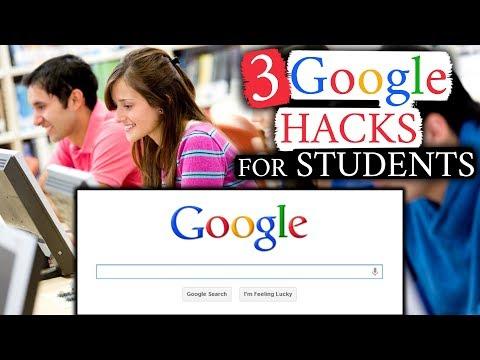 3 Google Hacks for Students - YouTube