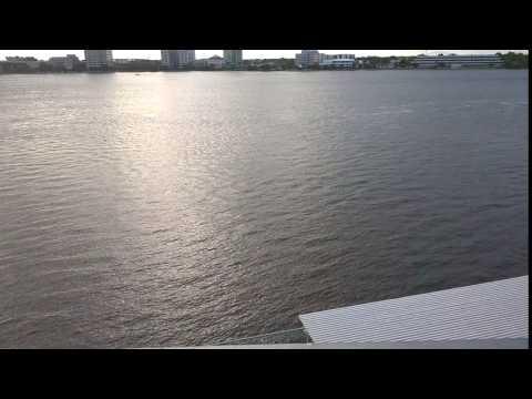 St. John's River, Downtown Jacksonville, FL, from the Baptist Hospital