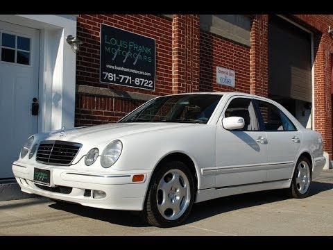2000 mercedes benz e430 w210 walk around presentation at louis frank motorcars llc in hd youtube. Black Bedroom Furniture Sets. Home Design Ideas