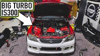 homepage tile video photo for THE TURBO IS300 IS BACK! - Finishing Up the Turbo Kit + Engine Bay!